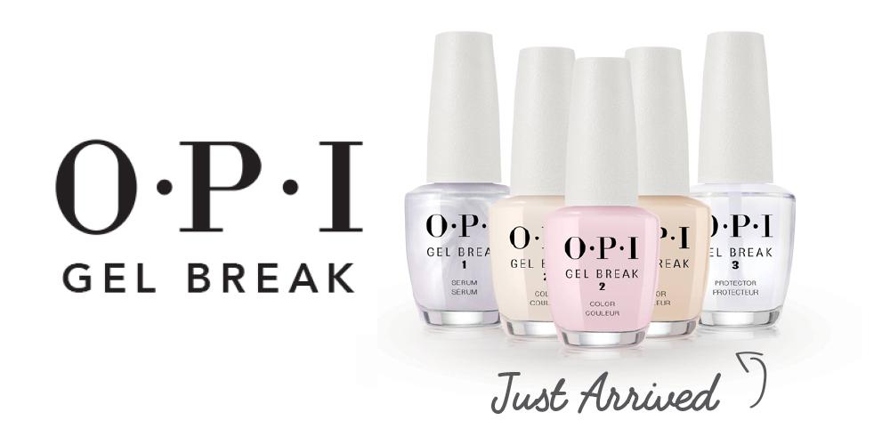 Take a Break from Gel with NEW OPI Gel Break! - Sorbet